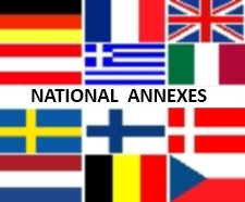 Concrete design Eurocodes National Annexes