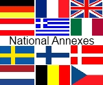 National Annexes implemented in RCsolver